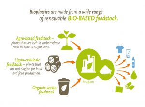What are bioplastics made of